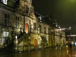 Leiden Monument - the beautiful town hall, Stadhuis Leiden